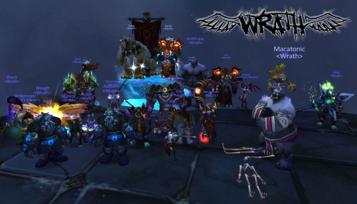 Wrath guild photo