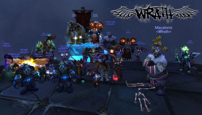 Wrath guild photo