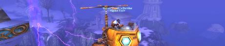 Ushas' new flying mount